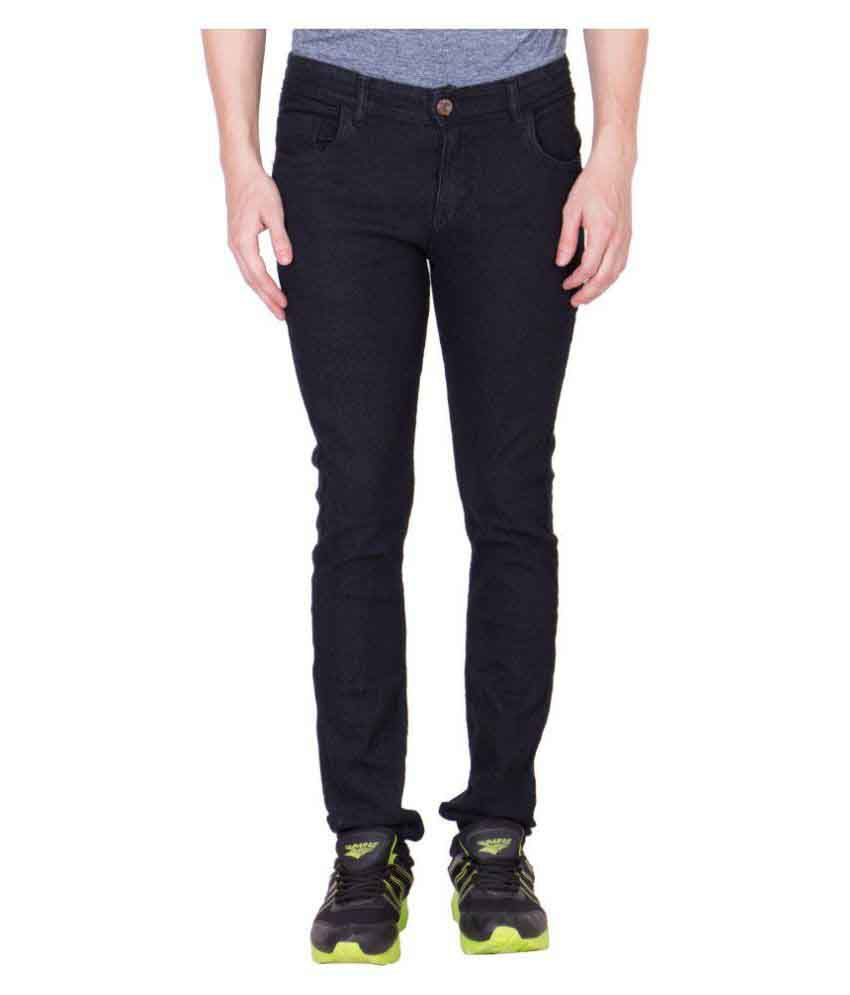 Maxxone Black Relaxed Jeans