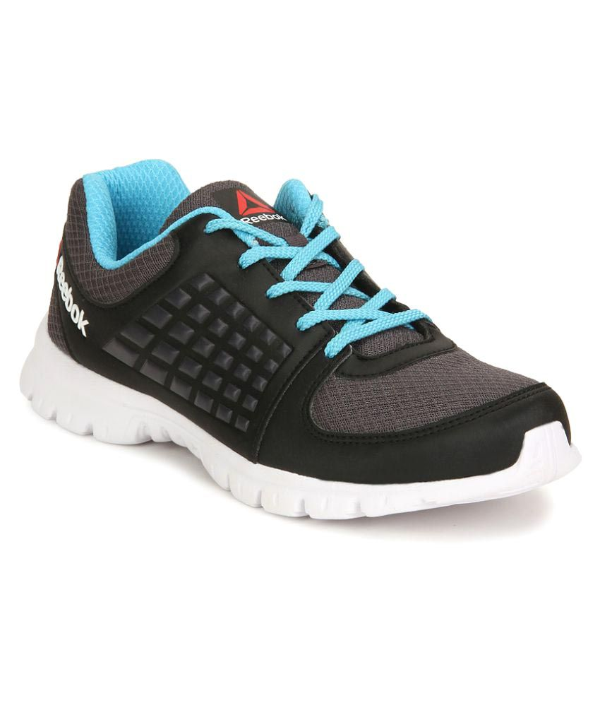 0f5e6cf51c198 Reebok Black ELECTRIFY SPEED Running Shoes Price in India- Buy Reebok Black  ELECTRIFY SPEED Running Shoes Online at Snapdeal
