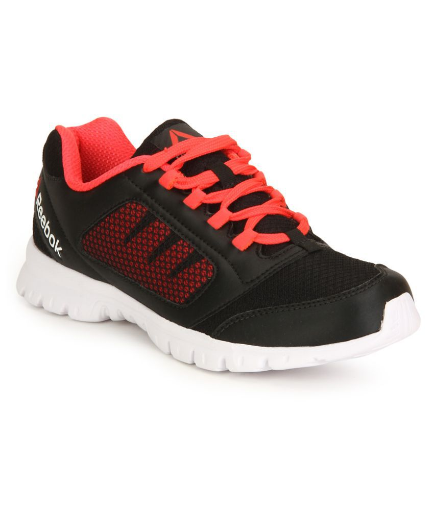 bc20ad33206 Reebok Black RUN STORMER Running Shoes Price in India- Buy Reebok Black RUN  STORMER Running Shoes Online at Snapdeal