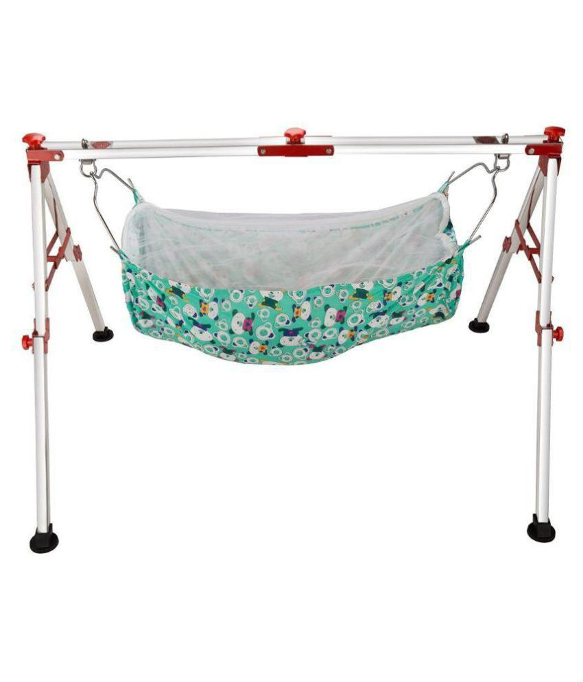 Indian Style Baby Cradle and Swing Frame Ghodiyu Hammock For Born ...