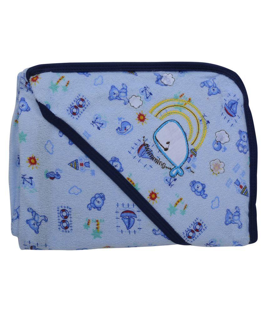 Kidzvilla Blue Baby Hooded Towel