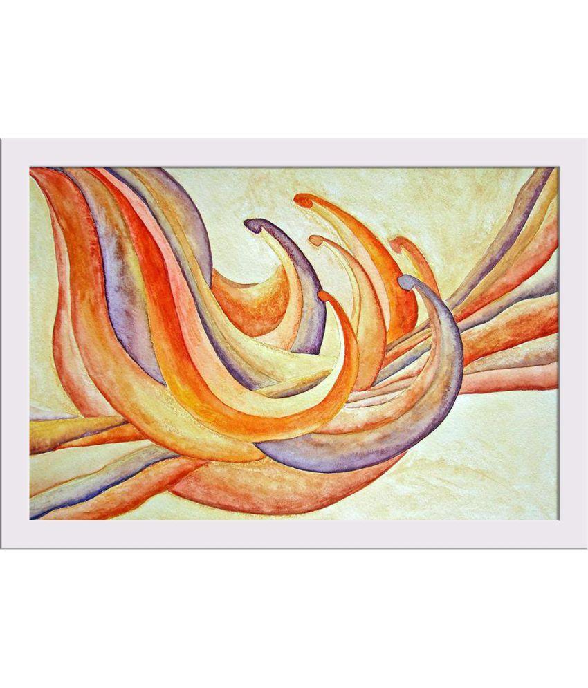 ArtzFolio Gallery Paper Art Prints With Frame Single Piece