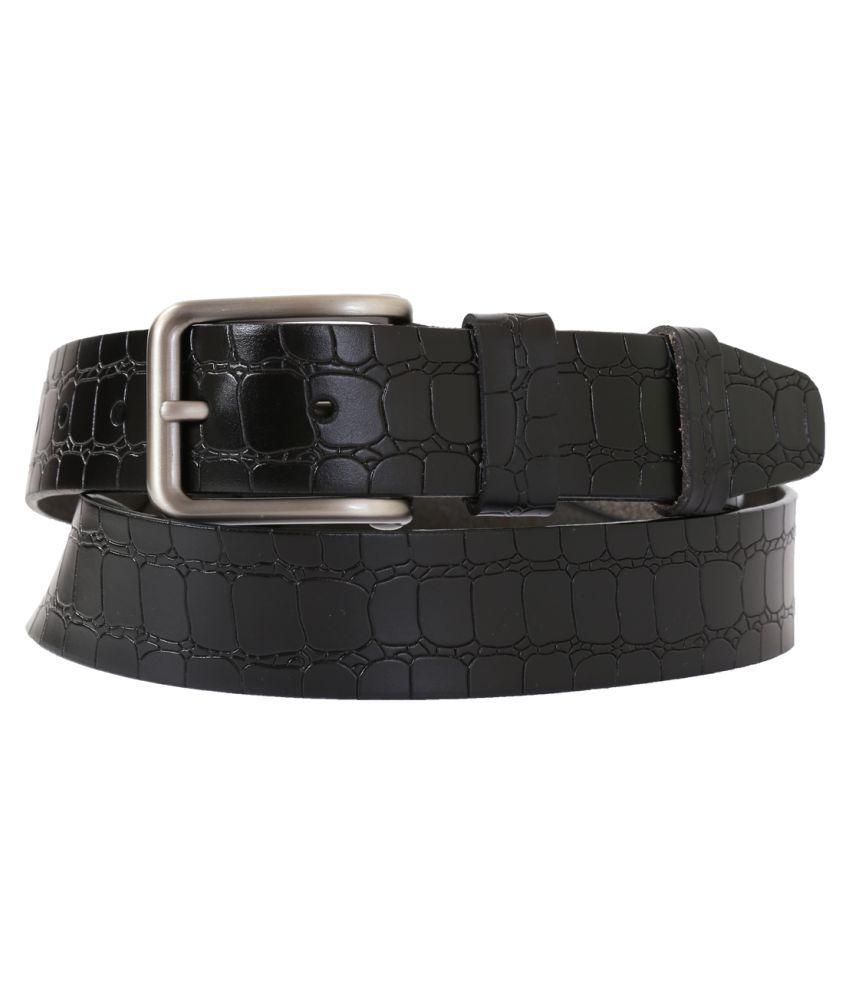 Schmick Black Leather Casual Belts
