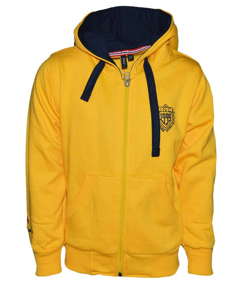 Vinenzia Yellow Sweatshirts