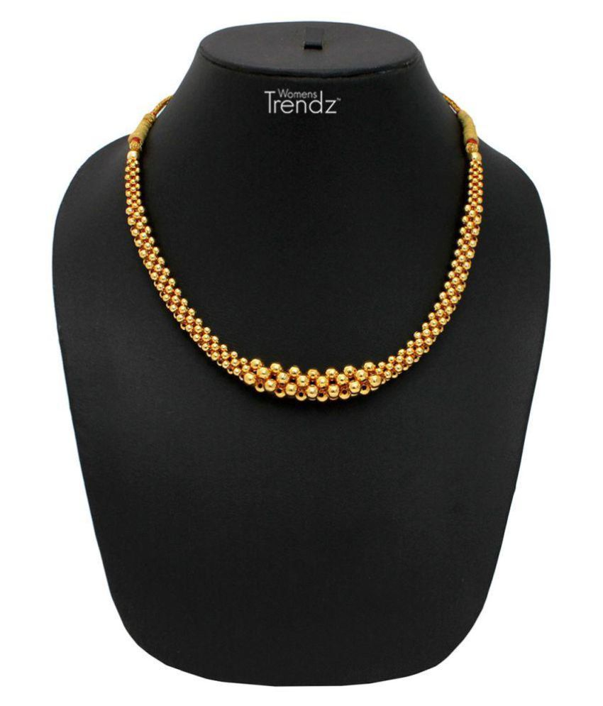 Womens Trendz Golden Necklace