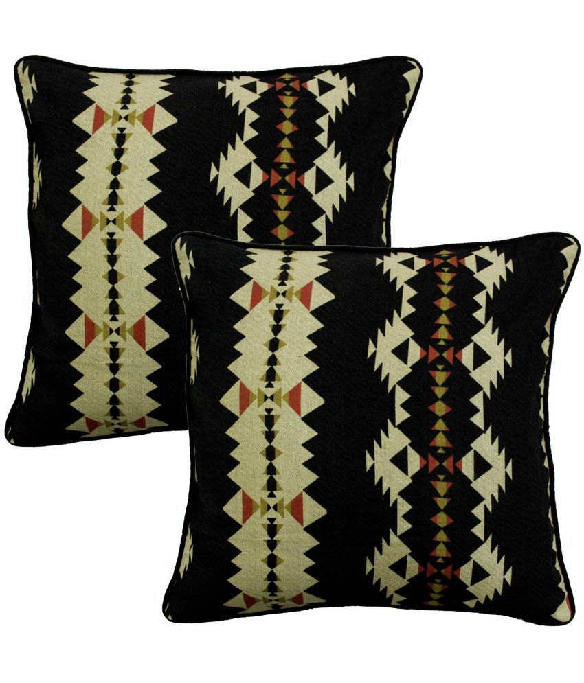 Aurave Set of 2 Cotton Cushion Covers