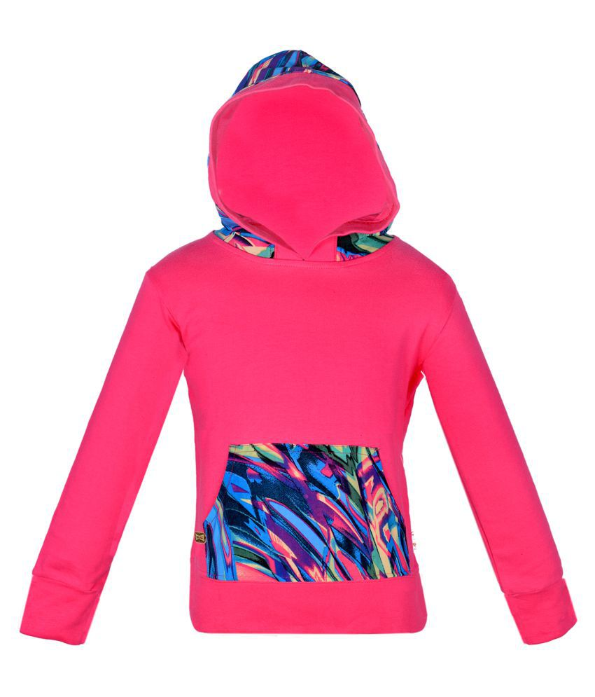 Gkidz Pink Hooded Sweatshirt