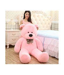 AVS 5 Feet Stuffed Spongy Huggable Cute Teddy Bear - 152 cm (Pink Color)
