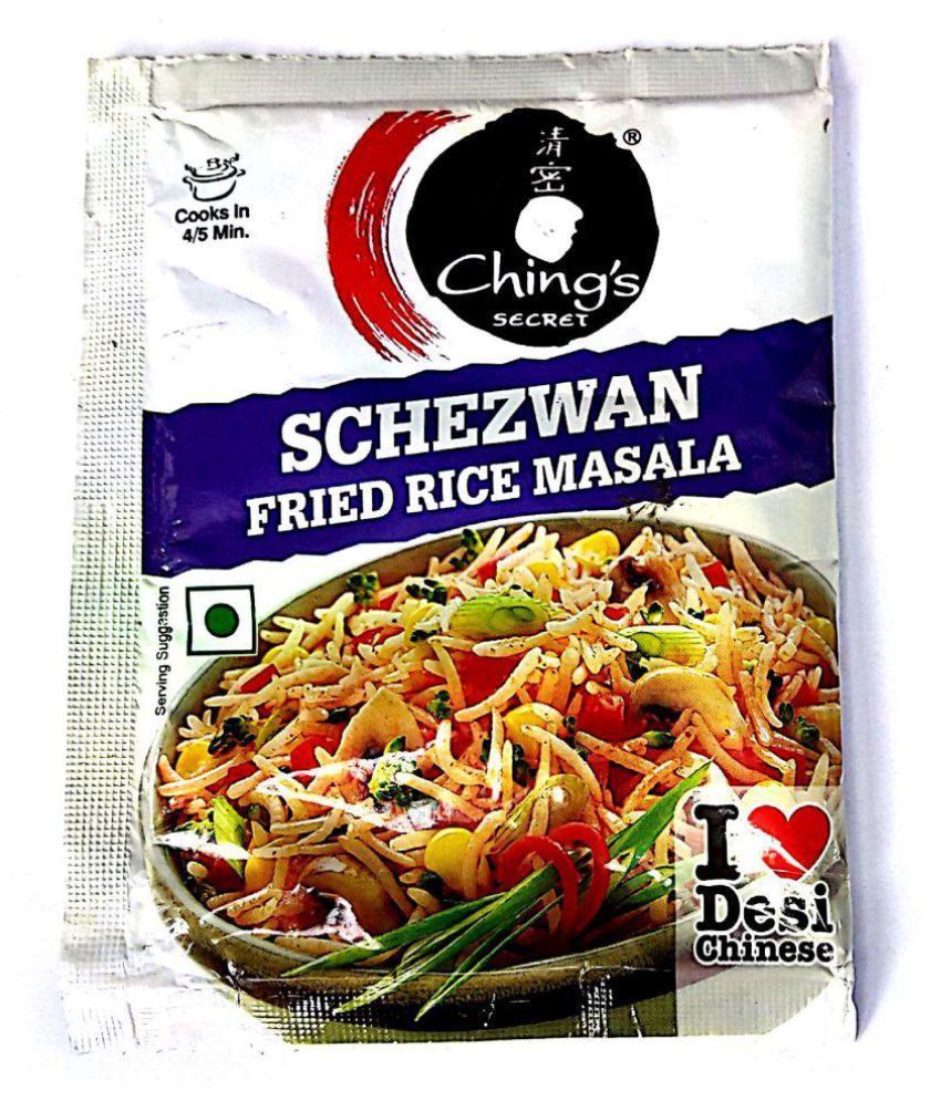 Chings schezwan fried rice masala powder 20 gm pack of 5 buy chings schezwan fried rice masala powder 20 gm pack of 5 ccuart Choice Image