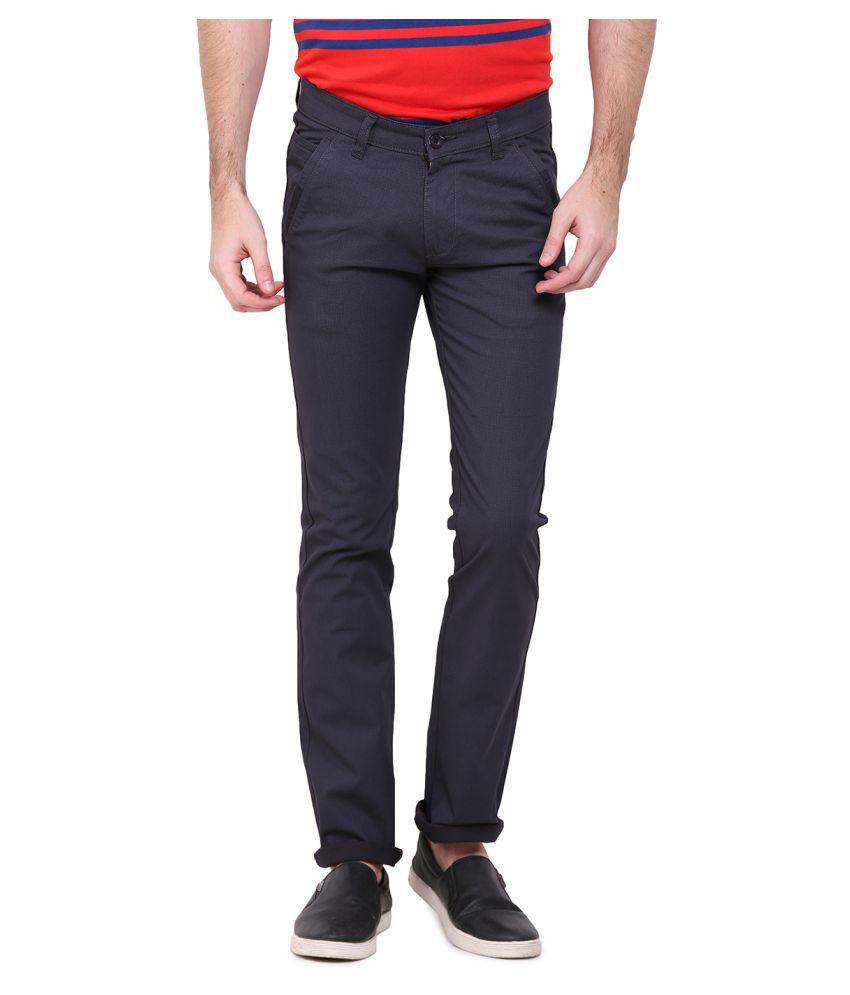 Duke Grey Regular Flat Trouser