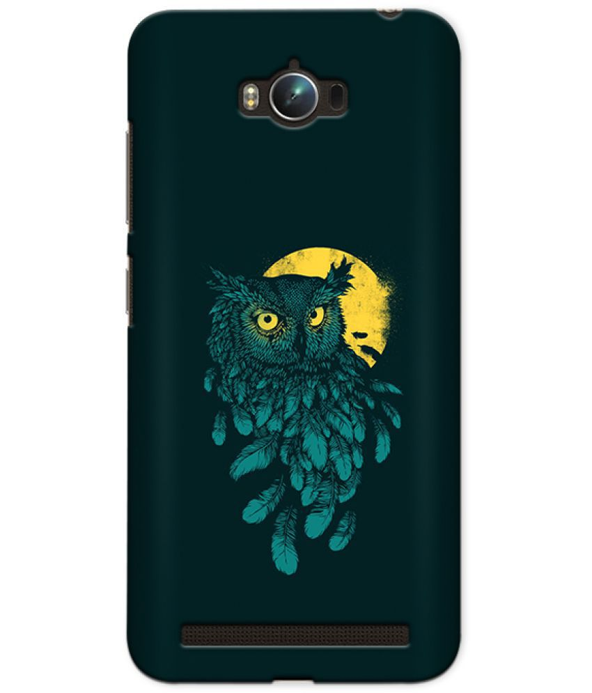 Asus Zenfone Max Printed Cover By CRAZYINK