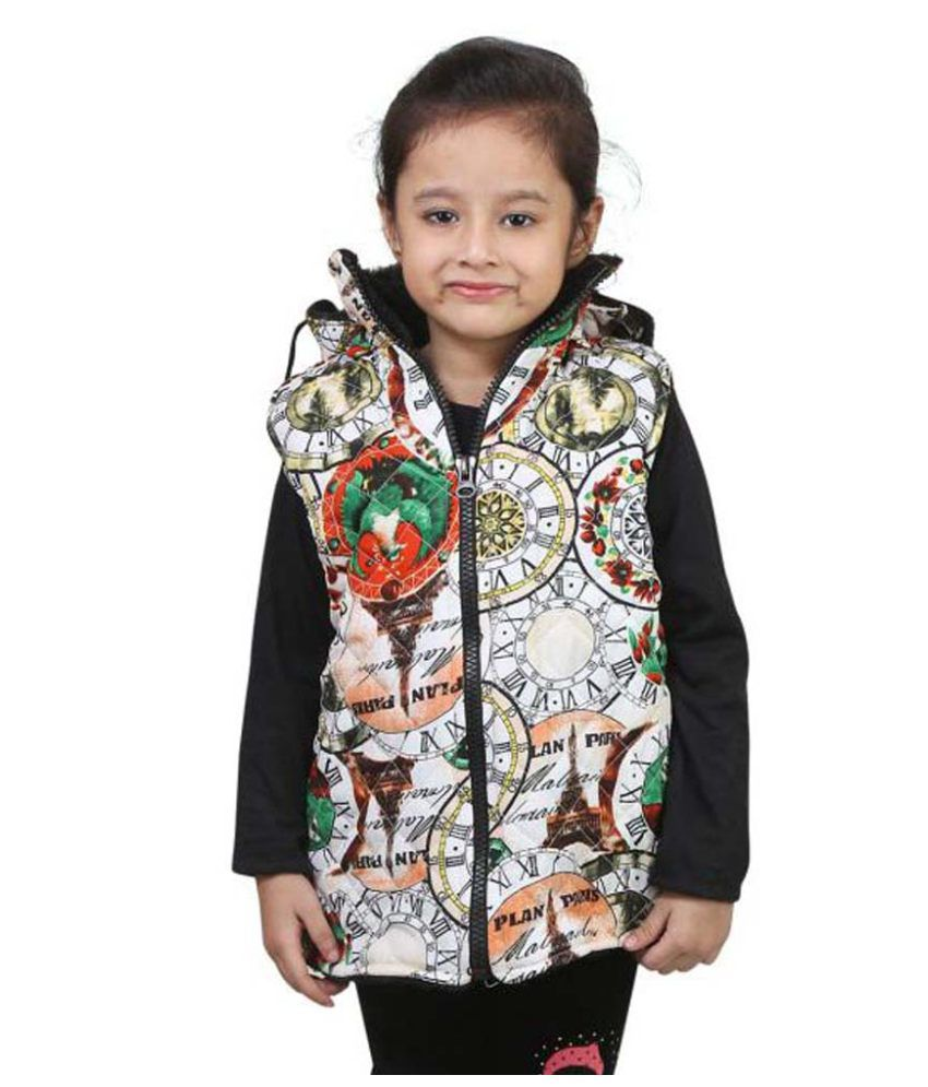 Crazeis Multicolour Nylon Quilted Jacket
