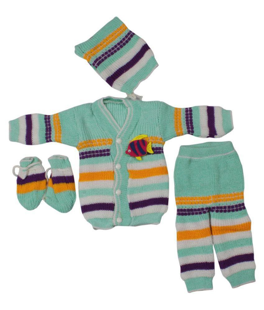e3b048ed5 Greentree Kids Woolen Winter Suit Baby Boys Girls Top   Bottom Set KSW212 -  Buy Greentree Kids Woolen Winter Suit Baby Boys Girls Top   Bottom Set  KSW212 ...