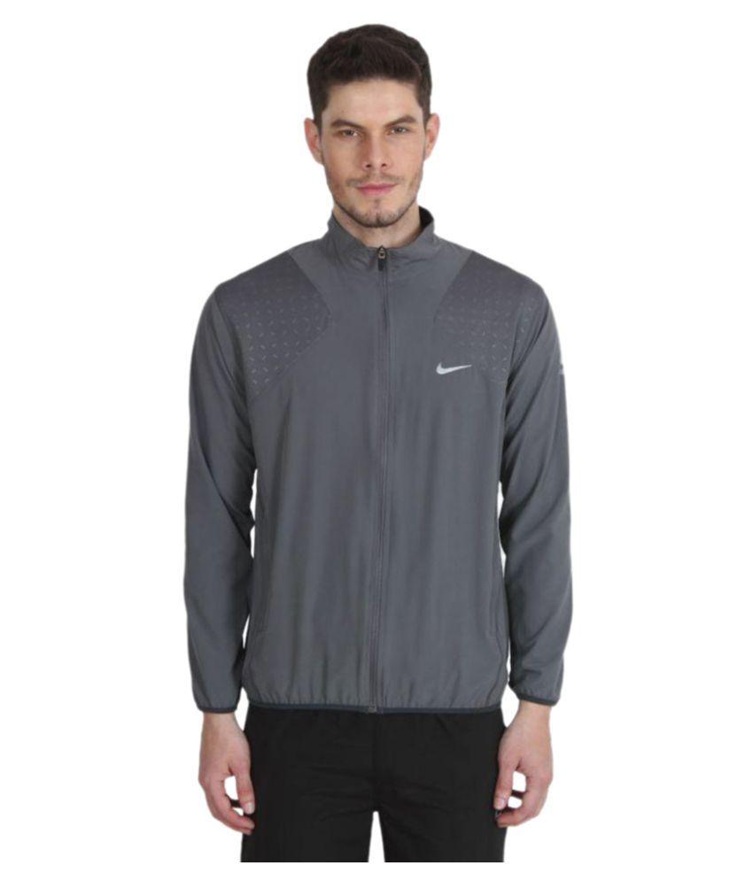 51e036ca5 Nike Grey Casual Jacket - Buy Nike Grey Casual Jacket Online at Low ...