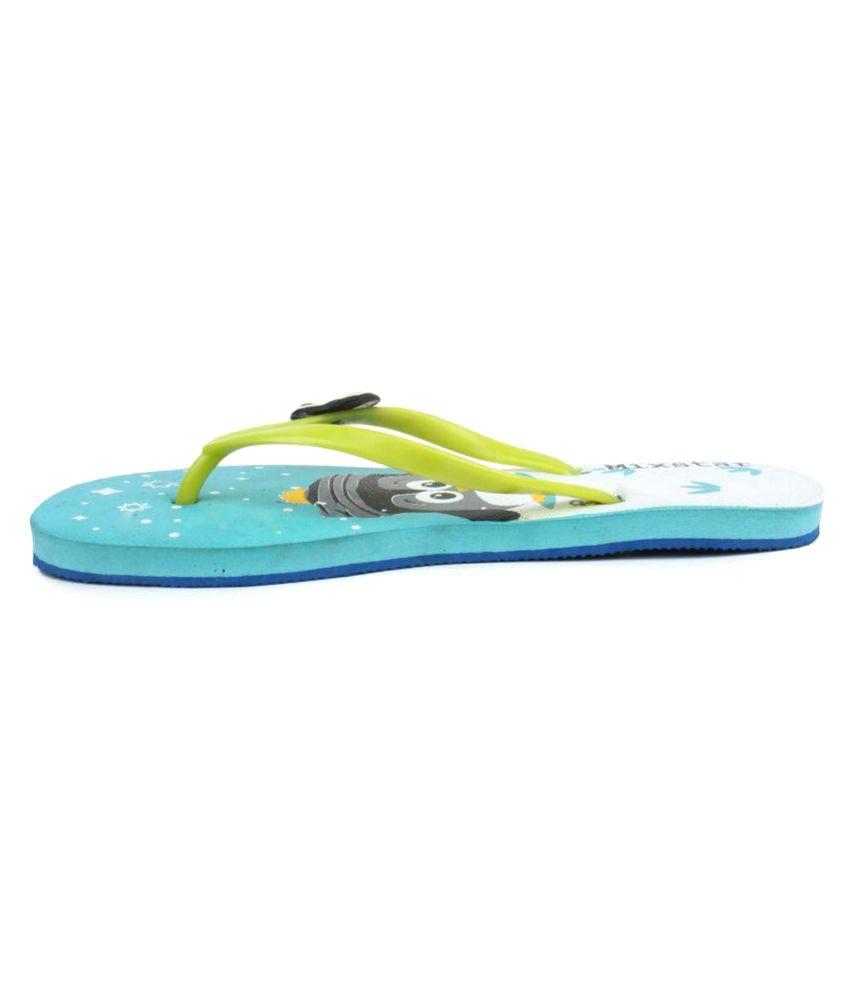 Amatra Green Slippers