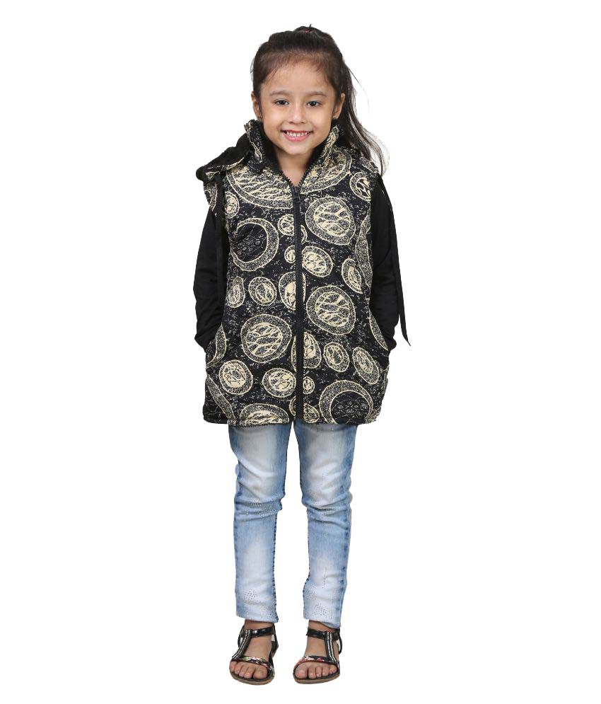 Crazeis Multicolor Full Sleeve Quilted Jackets For Girls