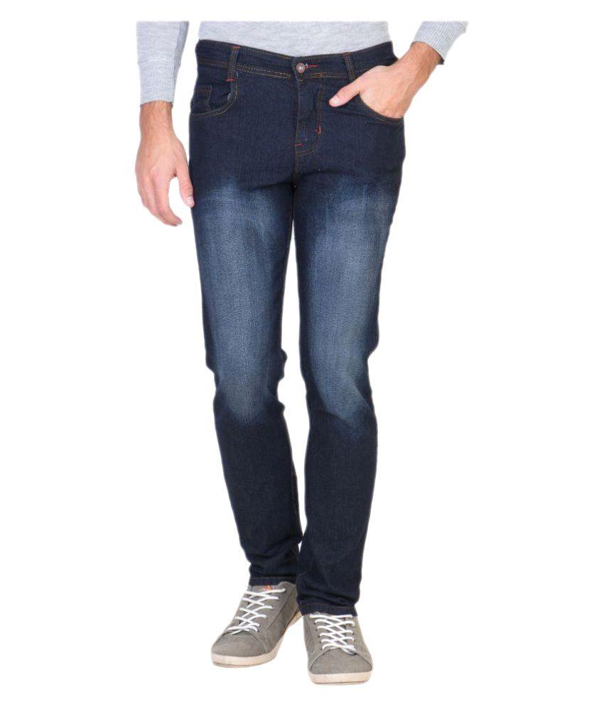 Delux Look Blue Slim Jeans