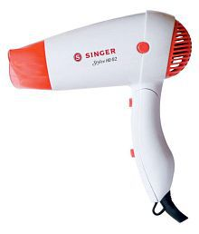 Singer Stylee Hd02 Hair Dryer ( White and red )