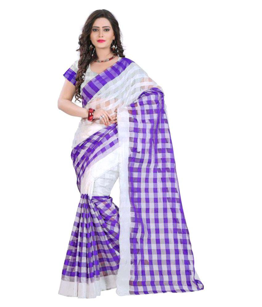 Aracruz Multicoloured Bhagalpuri Silk Saree