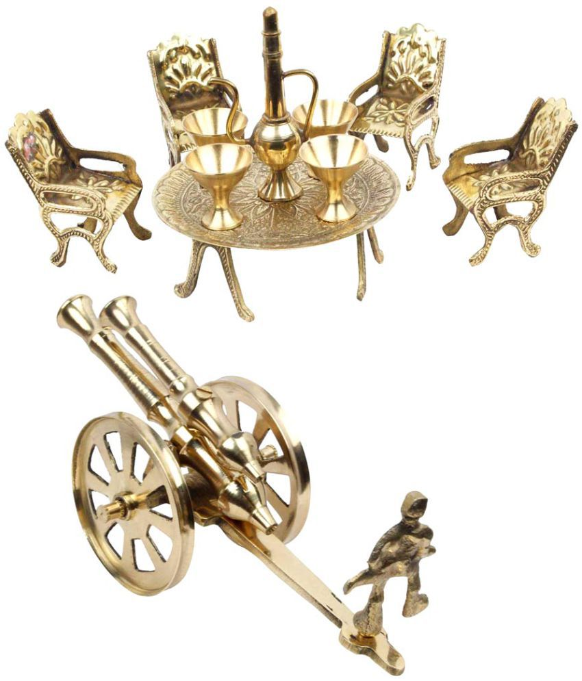 Halowishes Imitation Antiques Brass Gold 8