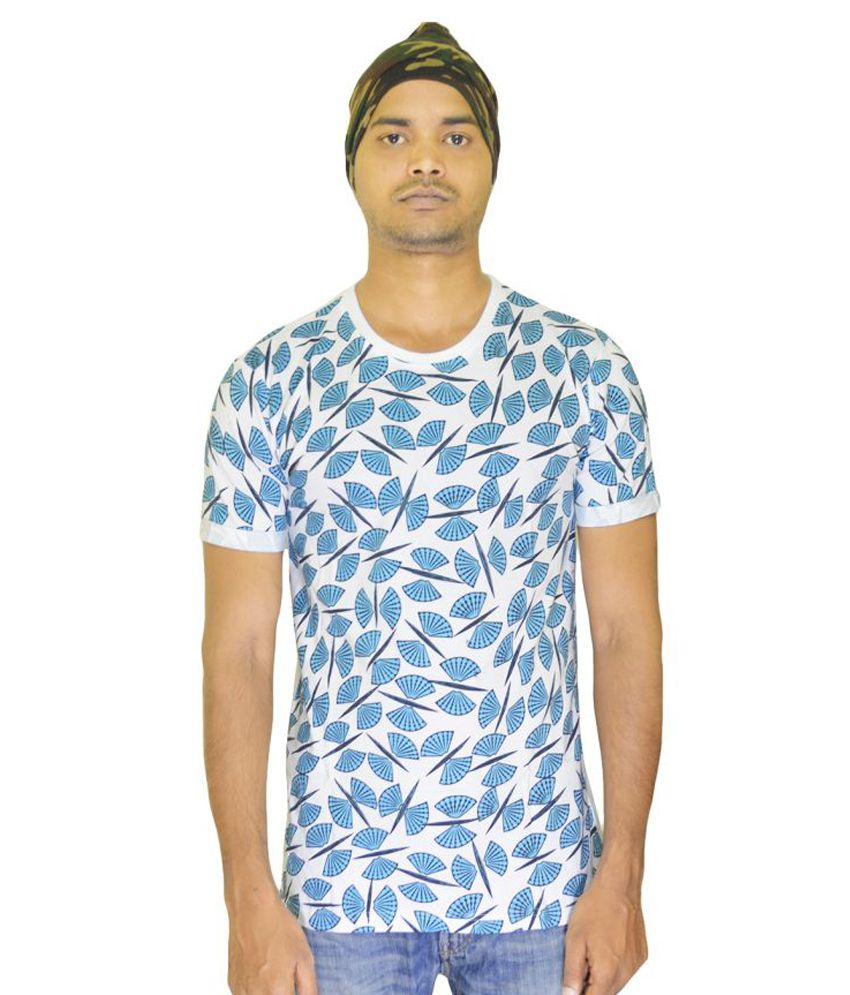 3Gan Clothing Multi Round T-Shirt