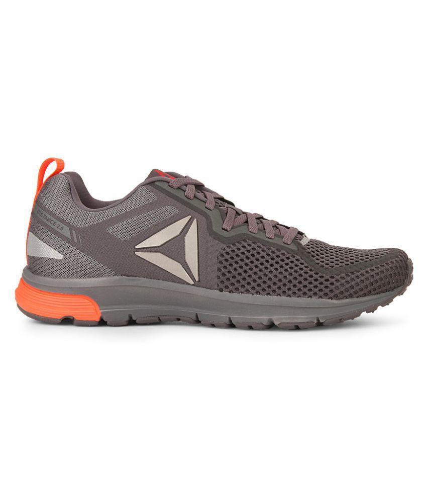Reebok Reebok One Distance 2.0ex Gray Running Shoes - Buy Reebok ... 0b01145c2