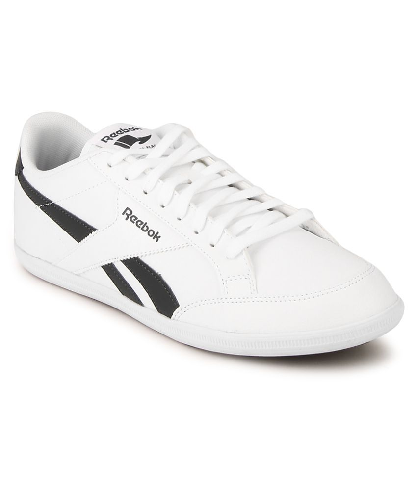 9a4190d0224ab Reebok Reebok Royal Transport S White Casual Shoes - Buy Reebok Reebok  Royal Transport S White Casual Shoes Online at Best Prices in India on  Snapdeal