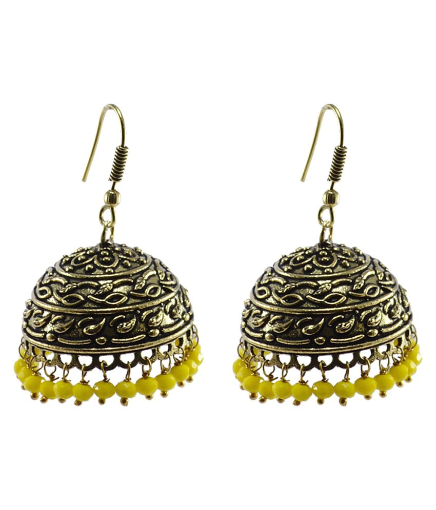 Silvesto India Multicolour Jhumki