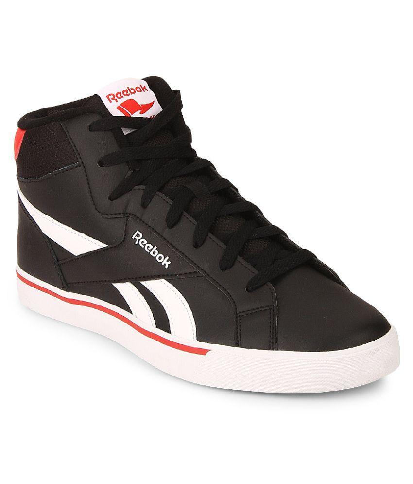 7d7e2e71a817 Reebok REEBOK ROYAL COMPLETE 2ML Black Tennis Shoes - Buy Reebok REEBOK  ROYAL COMPLETE 2ML Black Tennis Shoes Online at Best Prices in India on  Snapdeal