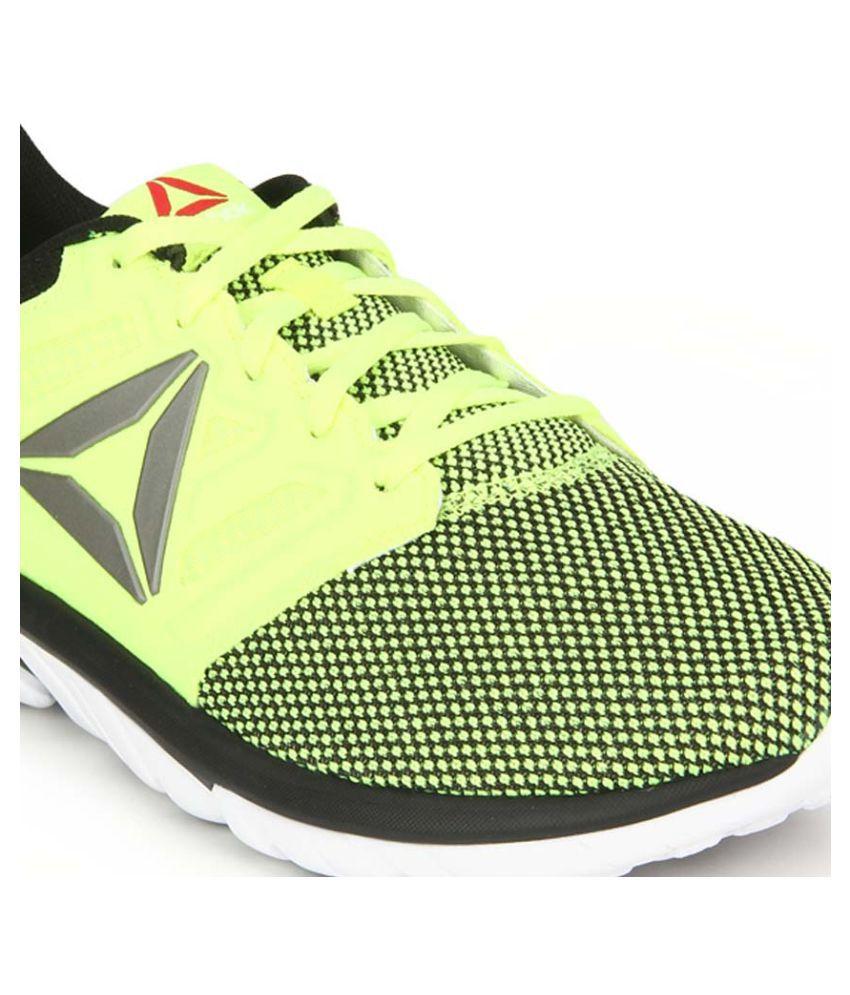83f0e6c4b9cf1a Reebok Zstrike Run Se Yellow Running Shoes - Buy Reebok Zstrike Run ...