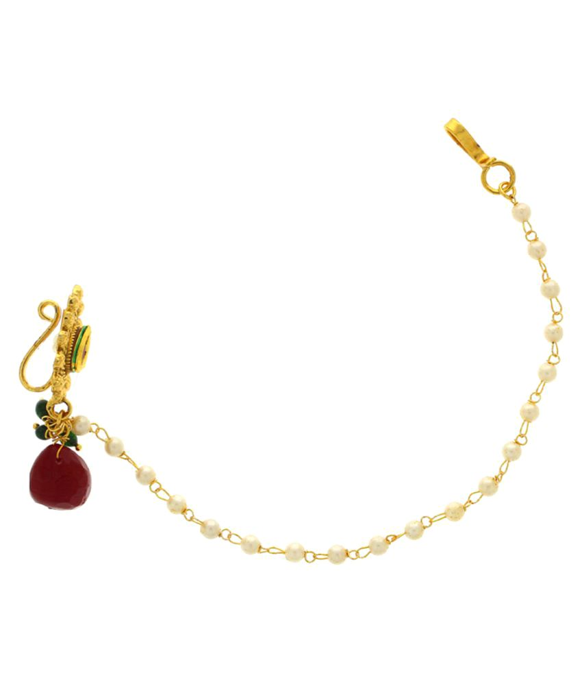 Anuradha Art Multi Color Alloy Nath