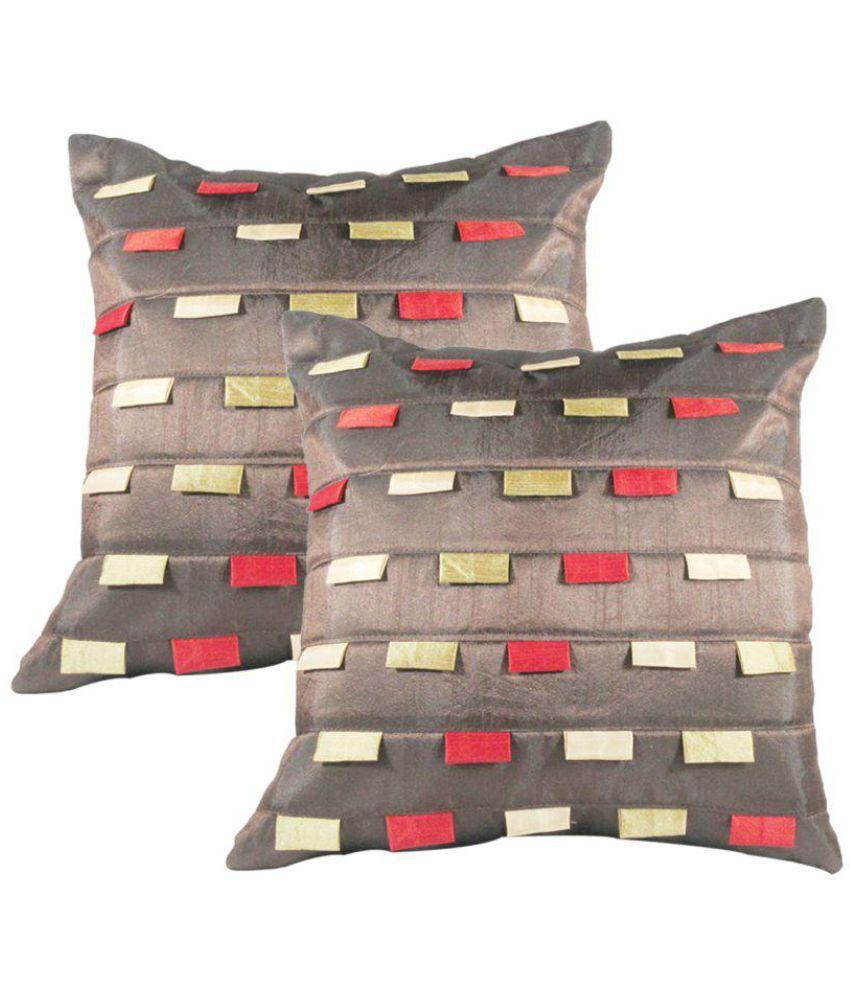 Rotomax Set of 2 Silk Cushion Covers