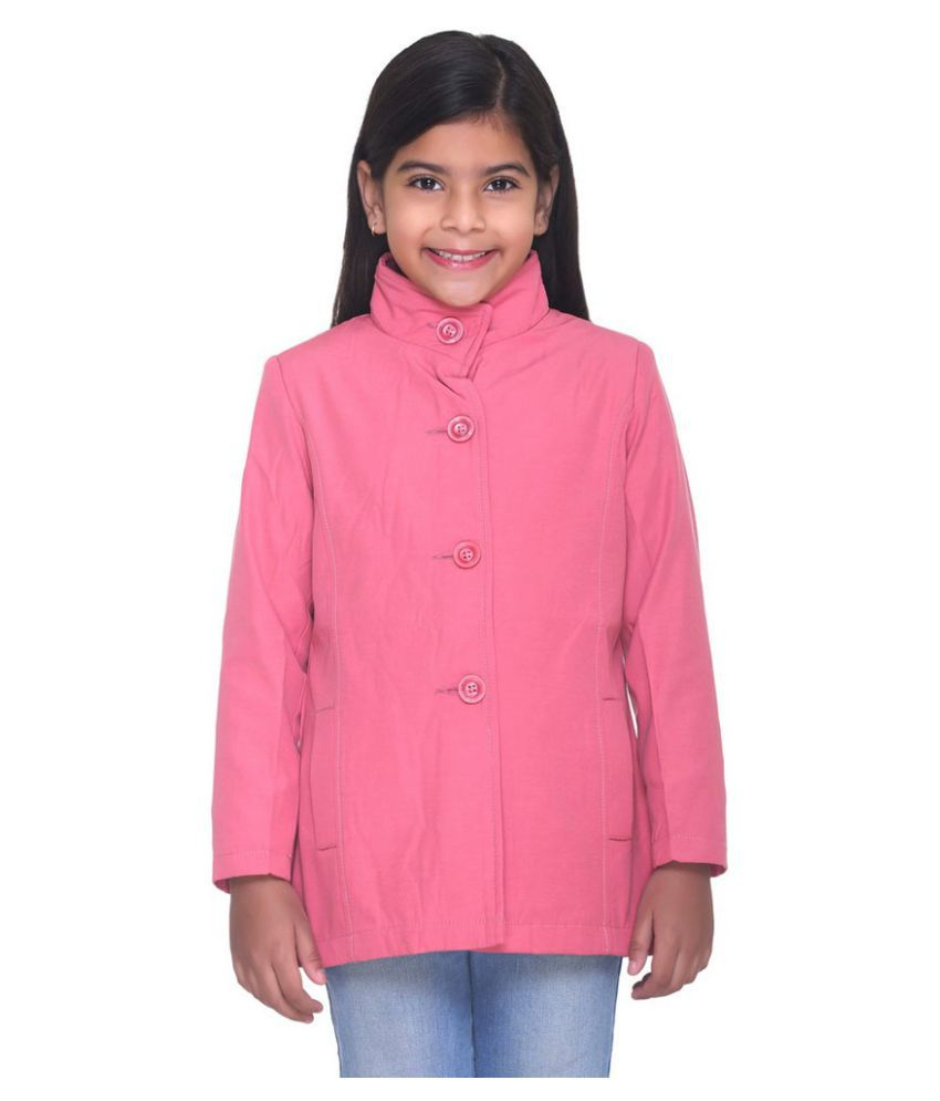 Kids-17 Pink Cotton Windcheaters