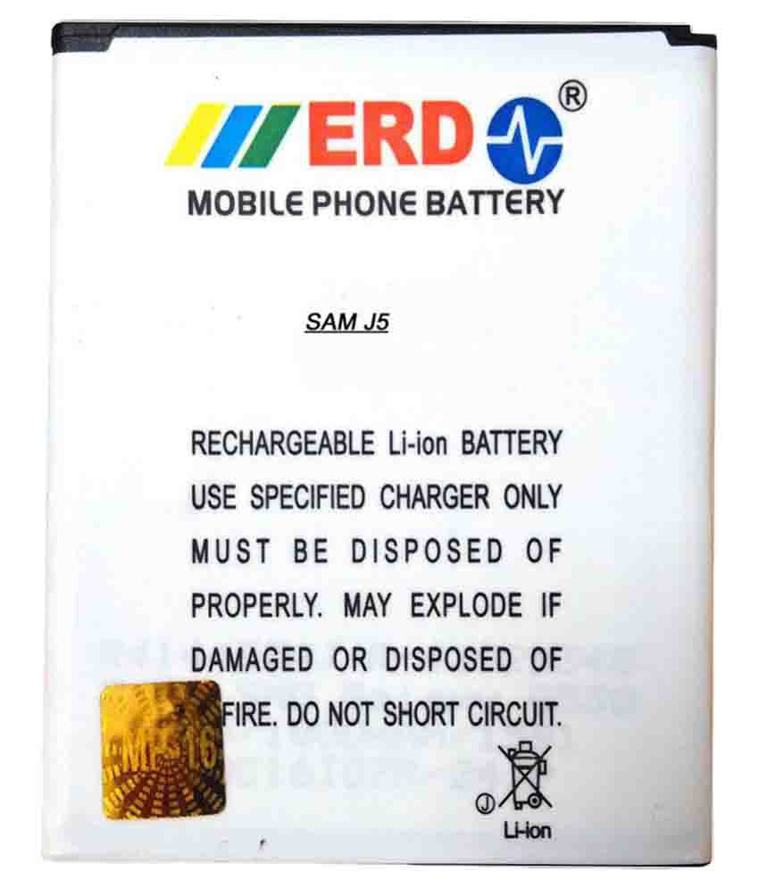 Samsung Galaxy J5 2400 mAh Battery by ERD
