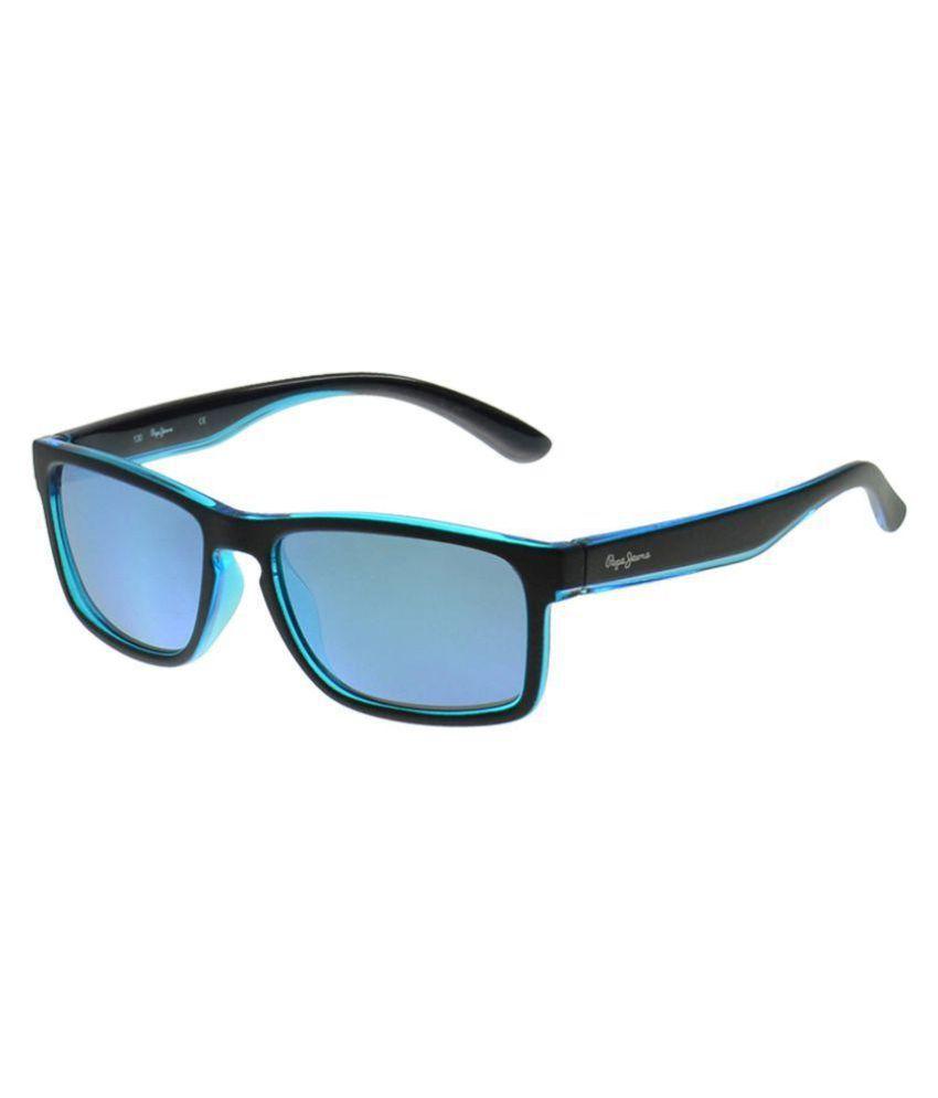 49c7c22bd1 Pepe Jeans Blue Wayfarer Sunglasses ( PJ8022C249 ) - Buy Pepe Jeans Blue Wayfarer  Sunglasses ( PJ8022C249 ) Online at Low Price - Snapdeal