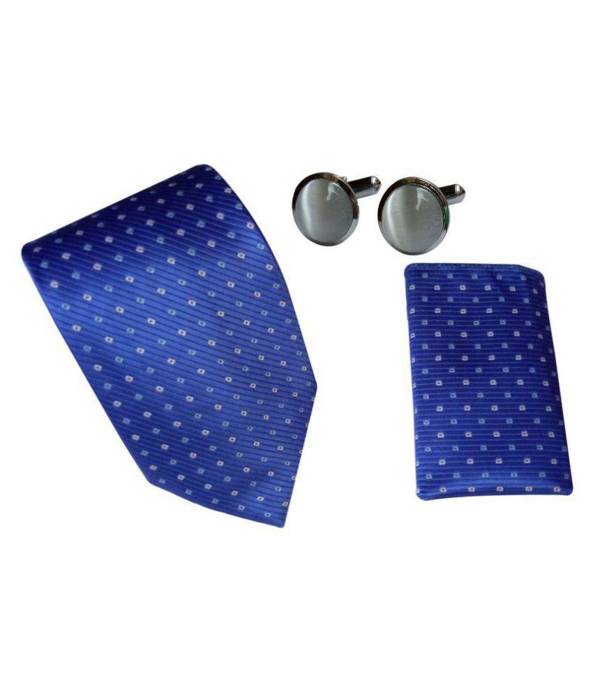 Model Blue Casual Necktie