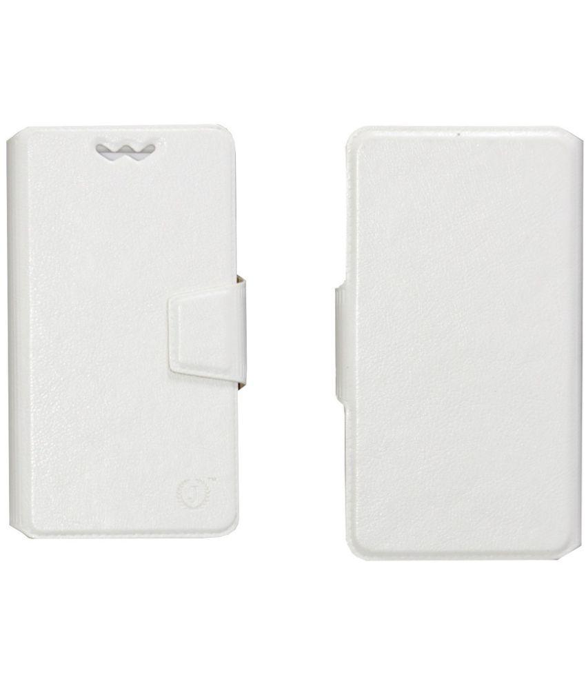 Lenovo Zuk Z2 Pro Flip Cover by Jojo - White