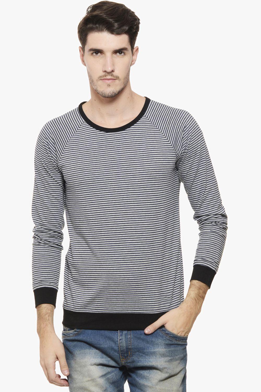 Rigo Grey Round T Shirt