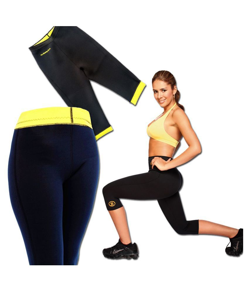Medineeds Hot Shaper Pant Size_L With One Touch Tech Logo Keychain
