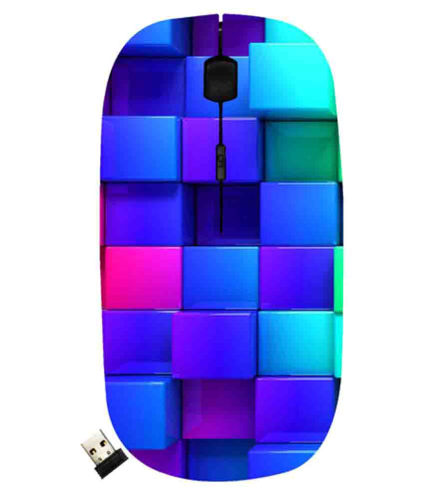 Casotec 8194-11094 Multicolour(May vary as per availability) Wireless Mouse Optical