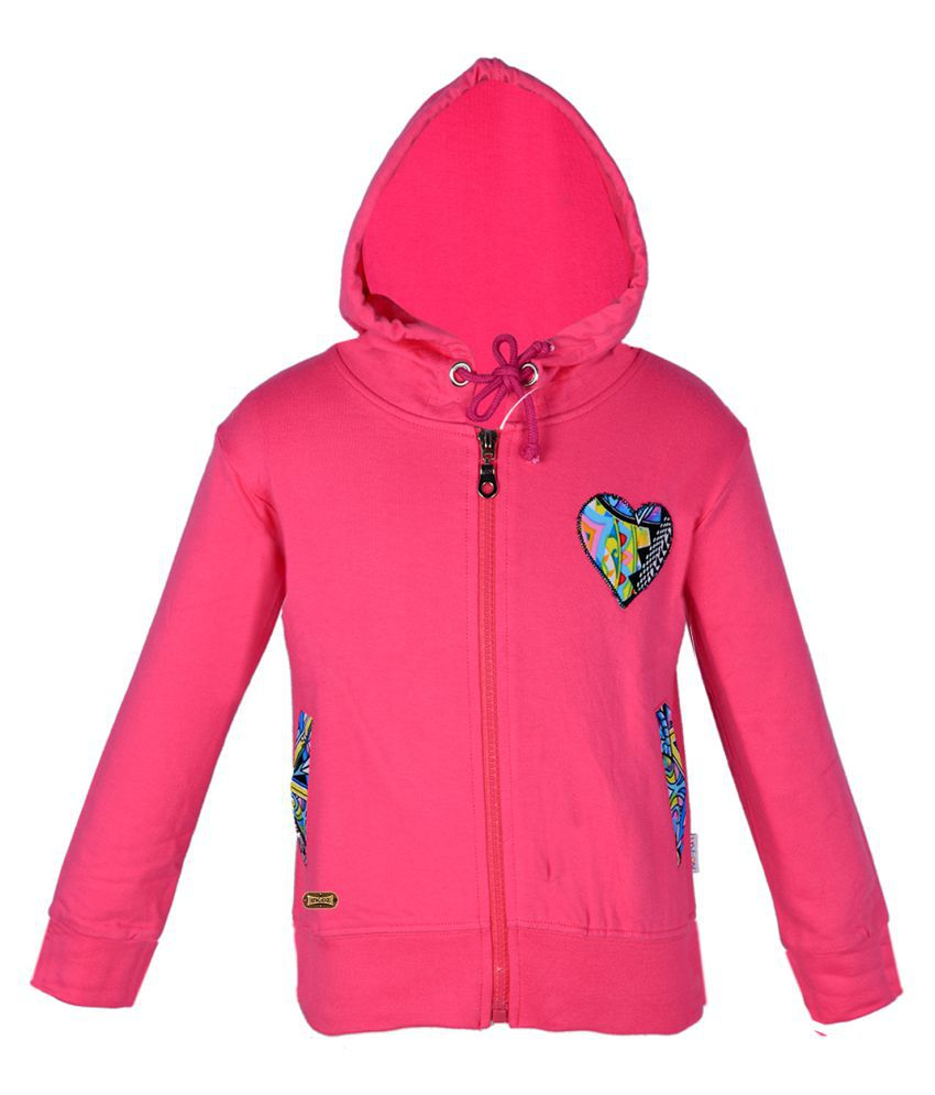 Gkidz Pink Hooded Sweatshirt