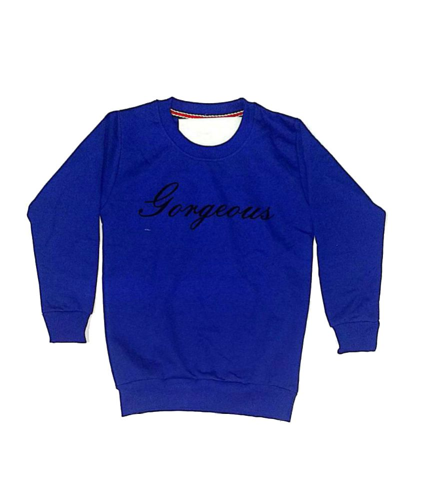 Cuddlezz Dark Blue Sweatshirt