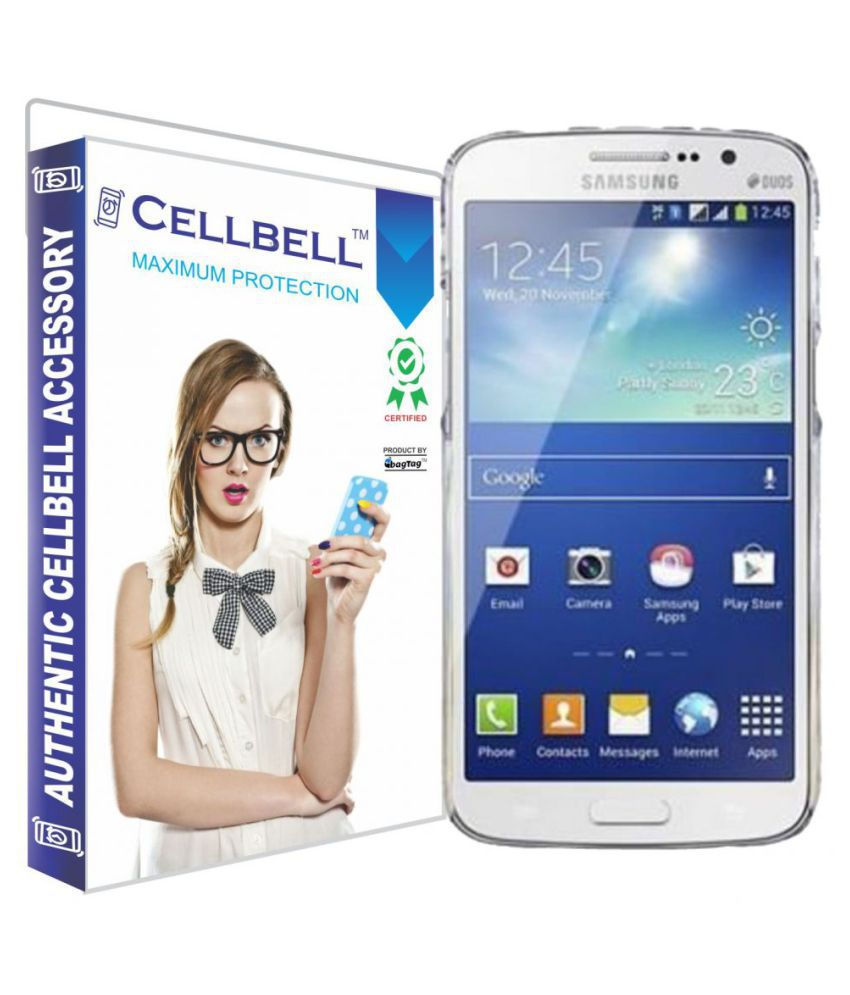 Samsung Galaxy S4 Mini Tempered Glass Screen Guard By Cellbell