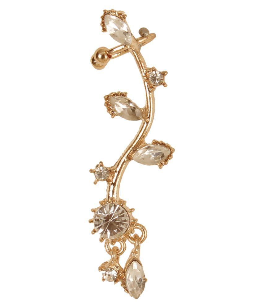 Ayesha Golden Earring - Buy Ayesha Golden Earring Online at Best ...