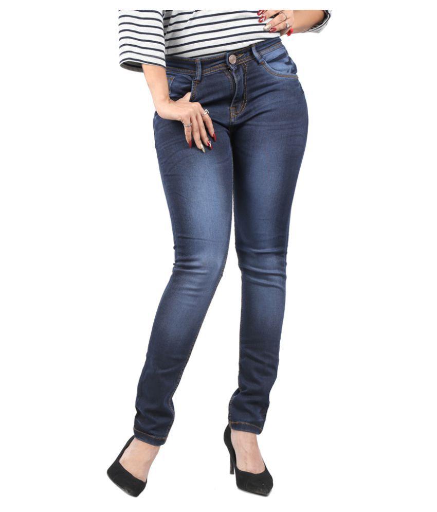 White-Pelican-Denim-Lycra-Jeans
