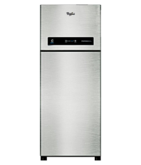 Whirlpool 445 Ltr 2 Star PRO 465 ELT 2S Double Door Refrigerator - Alpha Steel