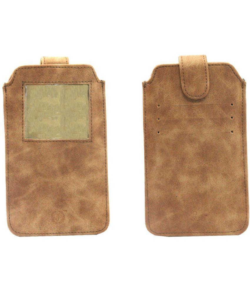 Samsung Galaxy Note 2 Flip Cover by Jojo - Brown