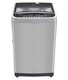 LG Above 8 T9577 TEELJ Fully Automatic Fully Automatic Top Load Washing Machine Middle Free Silver