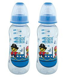 Mee Mee Multi-Colour Feeding Bottle - Pack Of 2 - 651167720144
