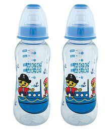 Mee Mee Multi-Colour Feeding Bottle - Pack Of 2 - 651167720144